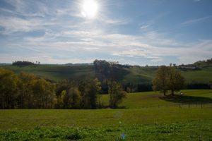 Unser Bioputen-Hof liegt inmitten von sanften Hügeln in der malerischen Buckligen Welt